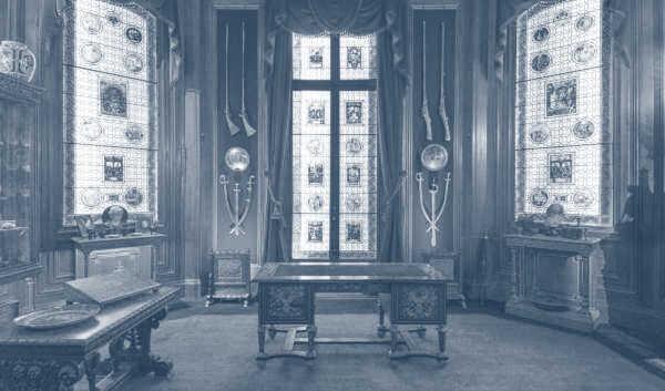 Cabinet de curiosités de Salomon de Rothschild