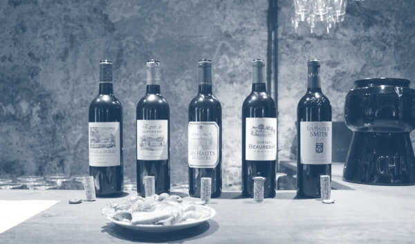 Tasting Session of Vintage Wines