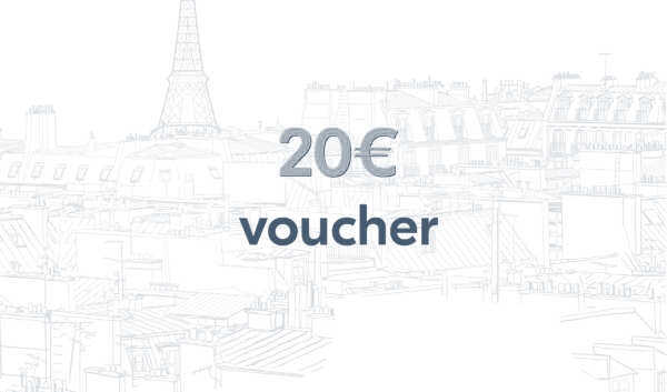 Bon-cadeau d'une valeur de 20€