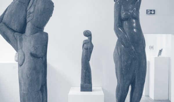 Un écrin de sculpture