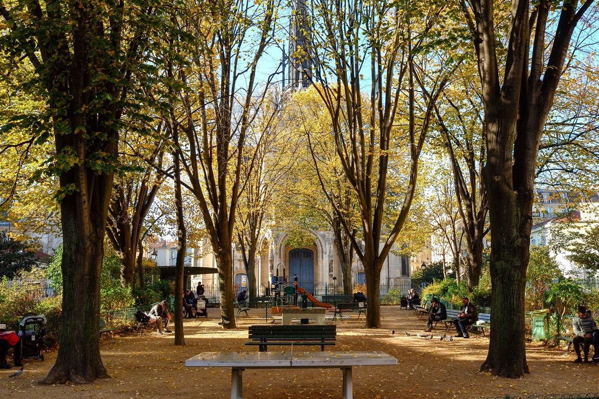 Square Saint Bernard Paris Goutte d'Or
