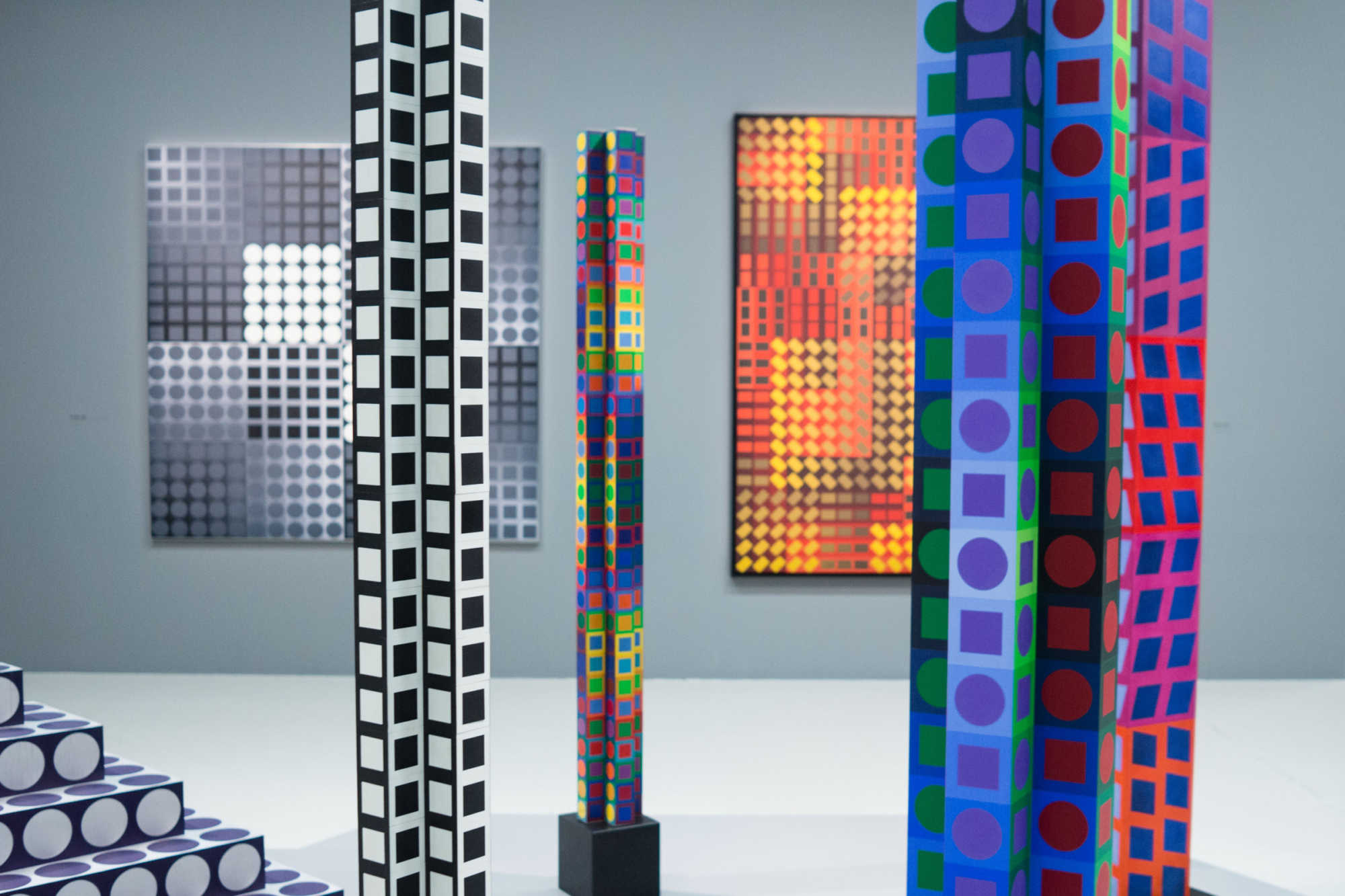 TheWaysBeyond - Centre Pompidou / Vasarely