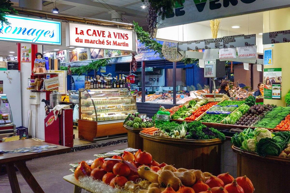 Bio Tour Saint Martin Market