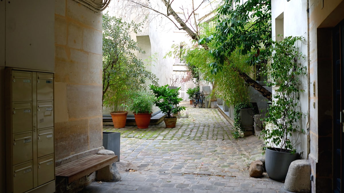 Essential Paris Le Marais hidden courtyards