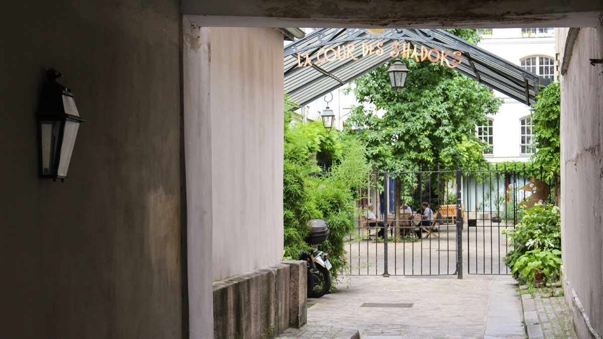 Paris Bastille Saint-Antoine Secret Courtyards