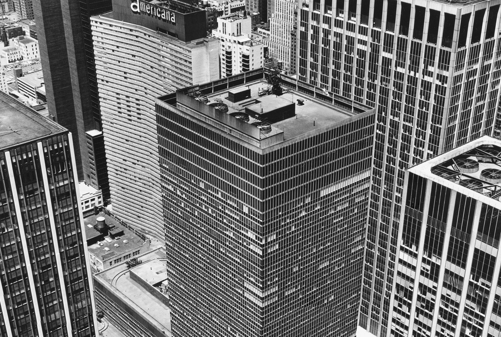 Peter Hujar, From Rockefeller Center: The Equitable Building, 1976