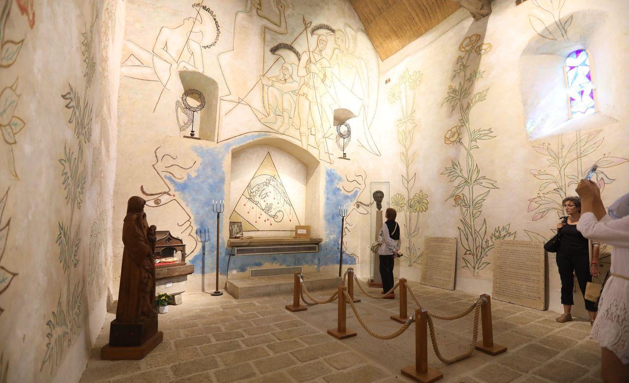Retraite hors de Paris Jean Cocteau Chapelle Saint-Blaise-des-Simples
