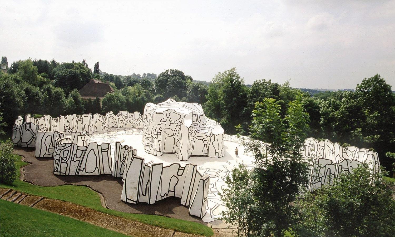 Paris Closerie Falbala Fondation Dubuffet Périgny-sur-Yerres