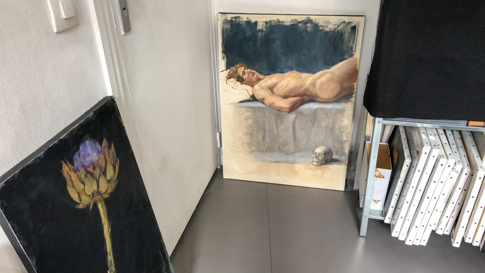 Ateliers d'Artistes de Belleville Charlotte Barrault Portrait