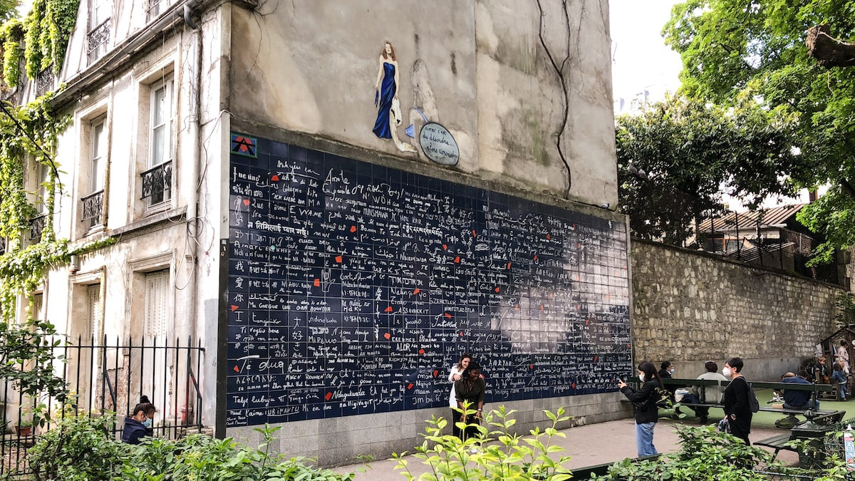 TheWaysBeyond Paris Montmartre Mur Des Je t'Aime