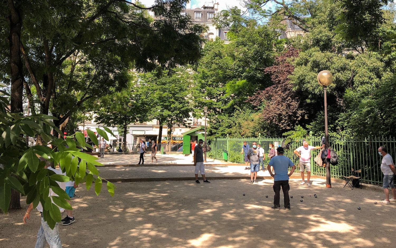 Paris Batignolles Parc Alphand Petanque TheWaysBeyond