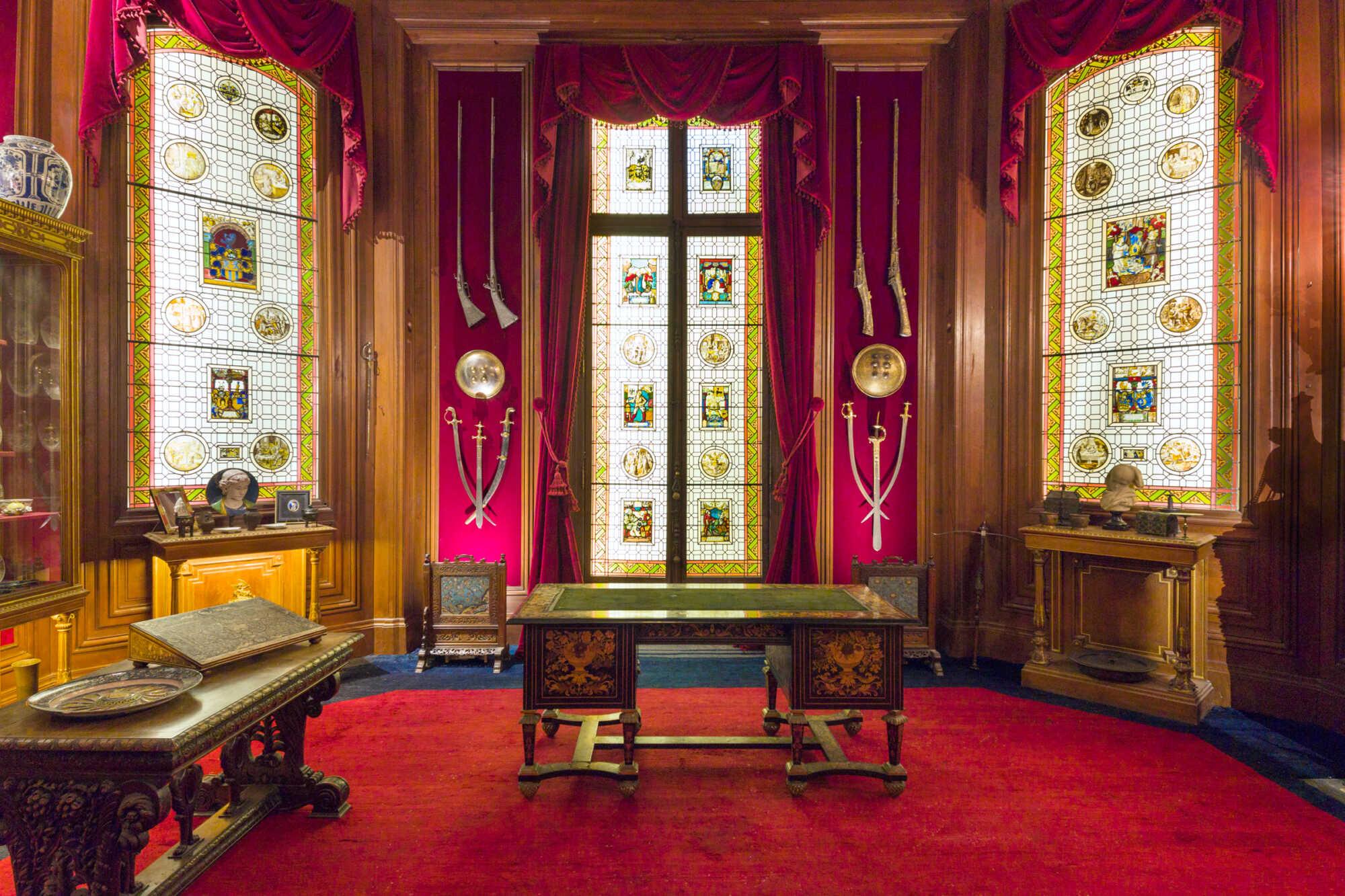 Cabinet de curiosité Salomon de Rothschild